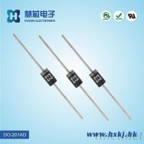 超快速恢複整流二極體 SF58 DO-201AD封裝 慧芯品牌 歡迎訂購
