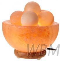 碗型鹽燈附按摩球