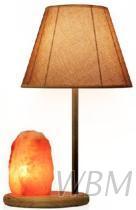 水晶鹽燈式臺燈