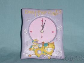 卡通樹脂時鐘