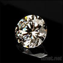 鋯石0.8毫米八心八箭白色圓形