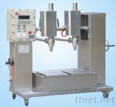 廣州輝鑫科技供應DCS30B2FB自動計量雙頭液體灌裝機 灌裝機械設備
