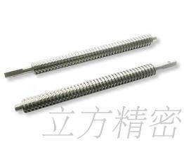 機件/螺桿CNC銑床加工