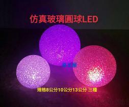 仿真玻璃圆球LED