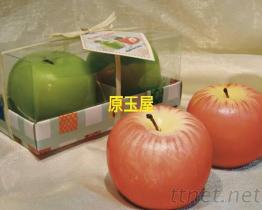 婚禮小物, 蘋果藝術蠟燭