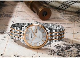 進口機芯全自動機械錶, 防水鋼帶男士手錶