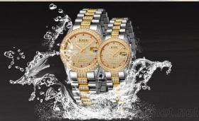 男士手錶, 情侶錶, 防水全自動機械錶