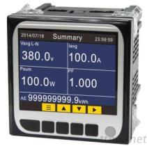 多功能电表, 电力品质分析表