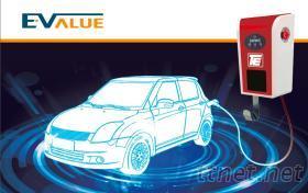 AC电动汽机车充电柱