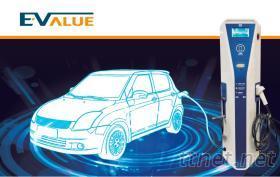 AC电动汽机车充电柱 (双枪式)