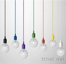 粉色马卡龙系列 吊灯 吸顶灯 (白、黄、红、绿、紫、蓝、咖啡、黑)