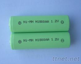 5號電池, 鎳氫電池, 鎳氫充電電池,LED照明燈具電池