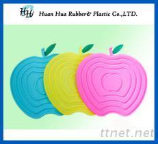 苹果造型隔热垫