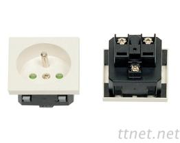 2 Pins 電源插座