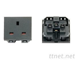3 Pins 電源插座