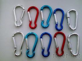 铝合金登山钩、扣, 葫芦形登山扣