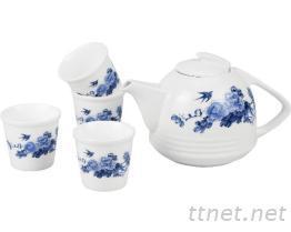 鎂質瓷茶具組