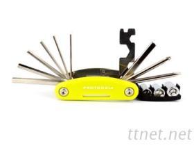 多功能自行车修理工具