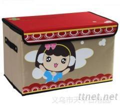 無紡布單層可折疊收納盒, 收納箱