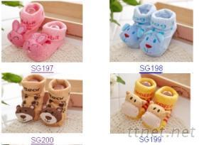 童襪, 嬰兒襪, 立體襪