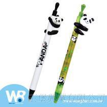 抱抱貓熊造型公仔原子筆/自動鉛筆