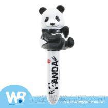 猫熊造型公仔手指偶公仔原子笔