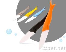 鯊魚陶瓷刀