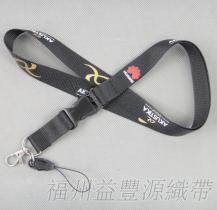 福建手机挂绳工厂直销热转印胸牌挂带