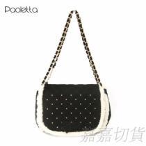 Paoletta 甜美金珠鍊包 包包批發 包包庫存切貨批發