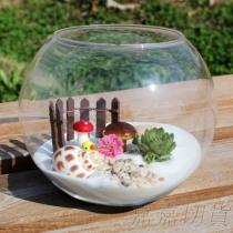 圓形玻璃缸 魚缸 盆栽 批發切貨