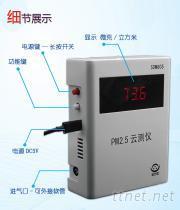 诺方激光PM2.5检测仪云测仪, SDM805数据扫码wifi无线传输智能监控