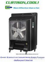 氣化式大型冷風機, 水冷扇, 涼風扇