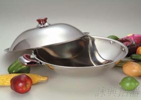 不鏽鋼白金炒鍋