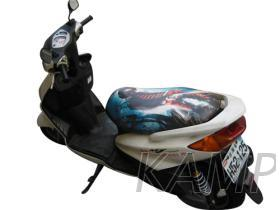 客制皮革机车椅垫
