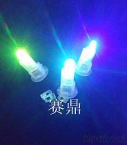 LED七彩閃光燈發光夜光專用氣球燈發光造型用燈裝飾專用燈批發LED燈芯手工兒童電子生日燈diy材料包手提紙燈籠