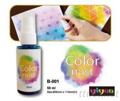 多彩色喷瓶