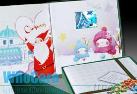 LED視頻賀卡, 影音卡片, 動畫卡片, 視頻賀卡