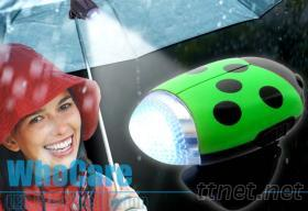 專利LED太陽能傘電筒, LED雨傘手電筒設計製造