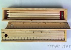 多功能木製鉛筆盒, 鉛筆, 彩色鉛筆, 卡通筆, 孩童筆, 廣告筆, 禮品筆, 贈品筆, 促銷筆, 促銷廣告筆, 禮品廣告筆, 贈品廣告筆