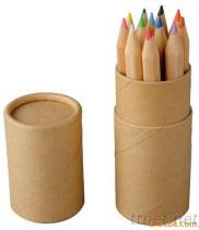 彩色鉛筆牛皮紙圓筒盒