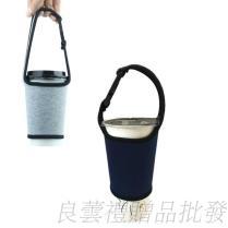環保手提杯套,隨行杯提袋,飲料杯提袋,保溫杯提袋