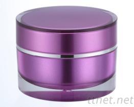 面霜盒  雾银紫,涂装,喷漆,表面处理,烤漆涂装