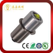 P13.5S LED 4.5V-12V手電筒燈泡, LED原子燈膽
