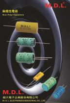 M.D.L. NP 无极性铝电解电解电容