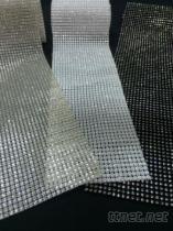 水鑽飾邊連線布
