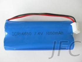 攜帶型揚聲器, 教學擴音器專用14650 7.4V 鋰電池組