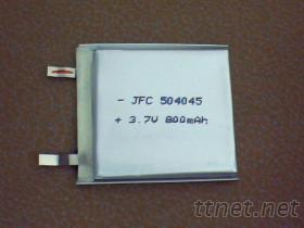 3.7V 鋰電池504045