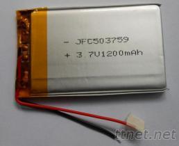 汽车导航仪专用电池 504060 1400MAH, 充电电池