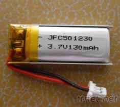 鋰聚合物電池 501230 3.7V 130Mah 汽車報警器電池 智能眼鏡電池