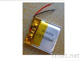 鋰聚合物電池 JFC402020 3.7V 100mAh